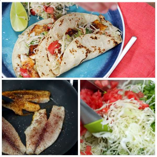 Fish tacos with cabbage slaw for Cabbage slaw for fish tacos